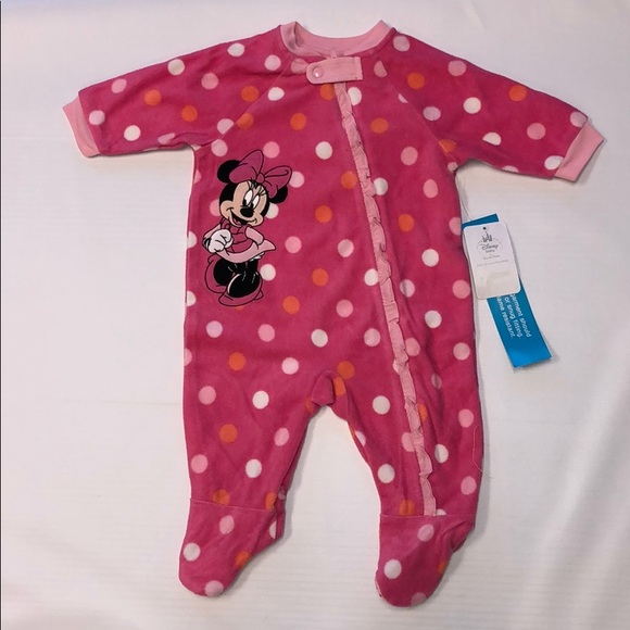 Disney Other - Disney Baby Minnie Mouse Blanket Sleeper For Baby